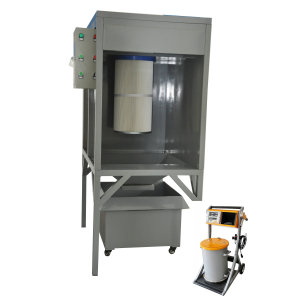 Small quality paint spray booth