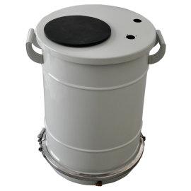 Powder painting barrel