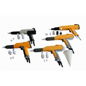 Powder spray gun parts to Indonesia