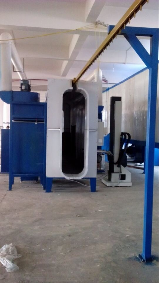 industrial powder spray booths