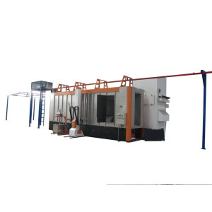 Industrial powder coating applications with multi cyclone