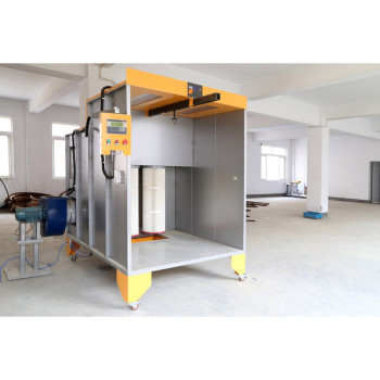 High quality manual powder spray booth
