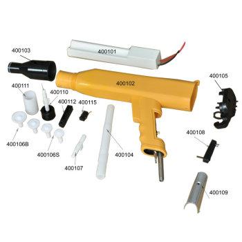 KCI spray gun replacement spare parts