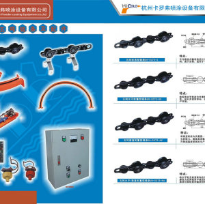 chain for powder coating line