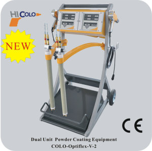 Vibrador manual coating systems colo opti
