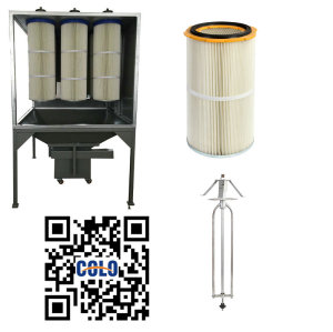 Фильтр-картриджи систем рециркуляции порошковой покраски