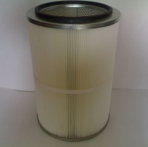 Normal filters cartridges for powder booth