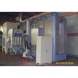 Automatic cabina de pintura con multi ciclon