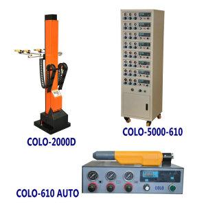 sistema automatica de aplicacion de polvo