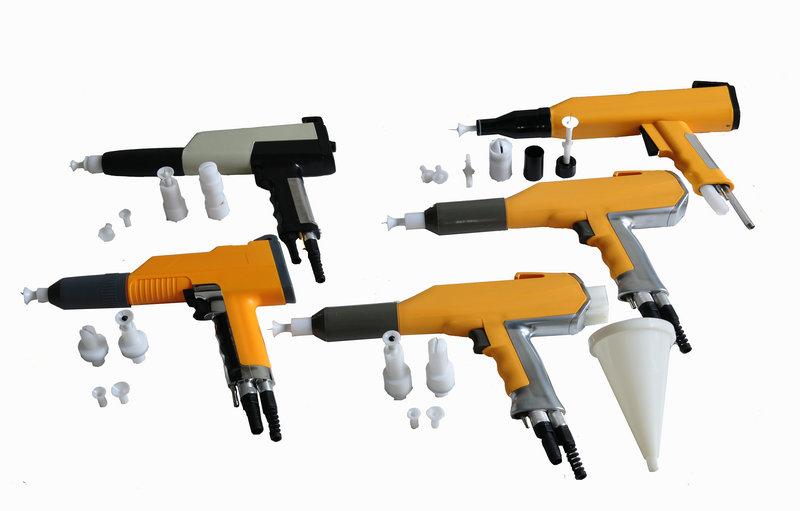 pistola de pintura en polvo
