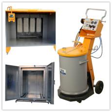manuelle Pulverbeschichtungsanlage