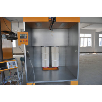 Common use manual powder booth
