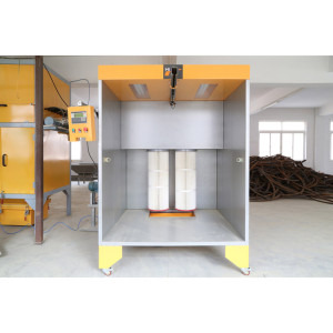 Fast Color Change Powder Booth Systems