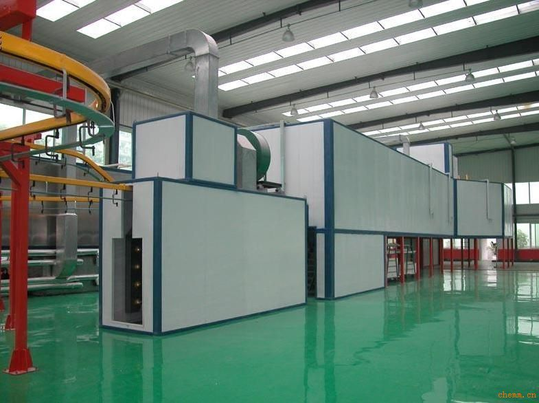 tunnel powder coating ovens