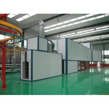 Industrial Powder painting ovens tunnel