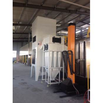 Fast Color Changing Powder coating Booth