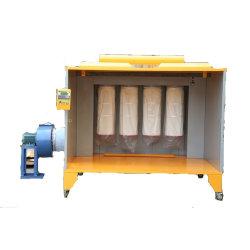 Cabinas de pintura en polvo por filtros
