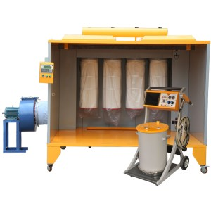 Solutions for electrostatic manual coating