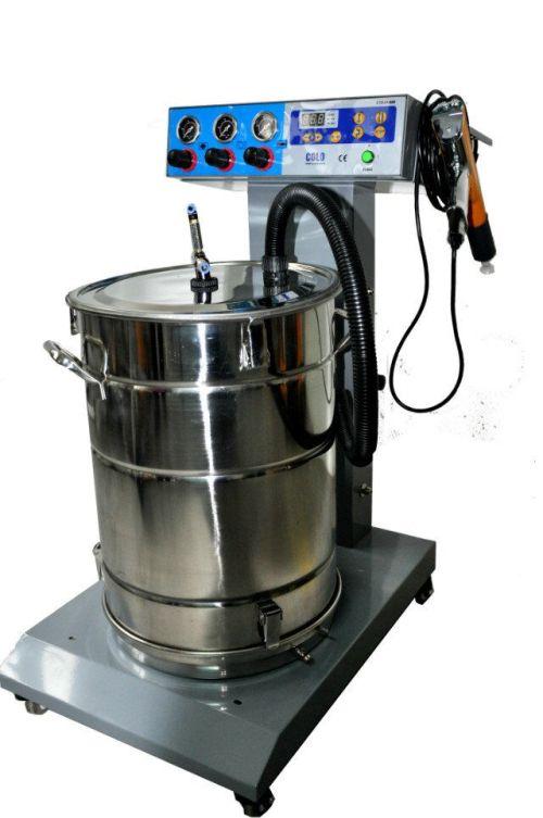 Fluidization tolva equipos para pintura en polvo