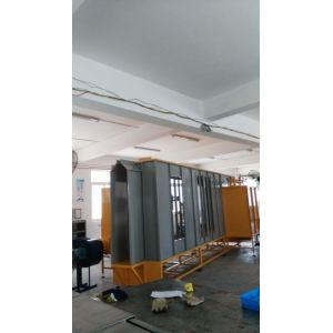 Automatic powder painting spray booth to Russia