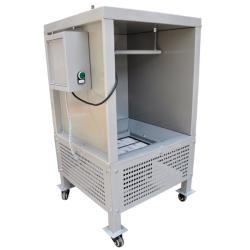 Experiment Typ Pulverbeschichtungs kabinen