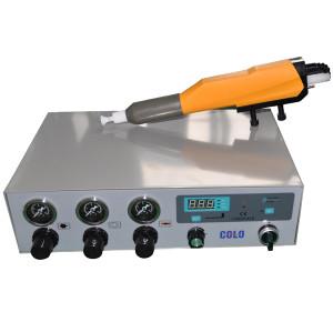 Automatische puls pulverbeschichtungs anlage