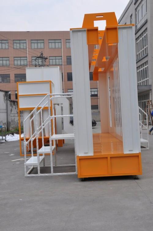 Cabinas proyecto pintura en polvo con ciclon