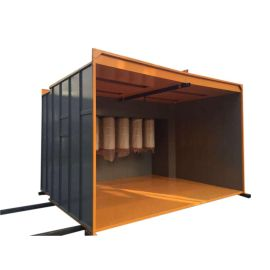 WALK IN manual cabina de pintura 4 metros
