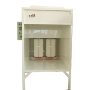 Small size electrostatic powder painting stand