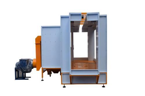 Cabina de Pintura En Polvo automatica