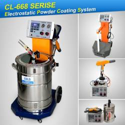 Manual powder coating systems CL-668