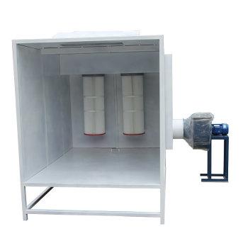 New ensamble powder coating booth