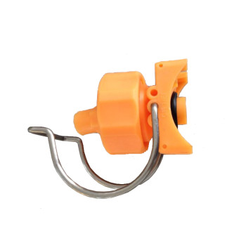 Powder coating pretratement  clamp nozzle