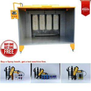 Special Offer in April Buy Spray Booth Testing Machine Free