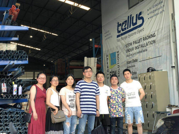 colo team visit thailand customer