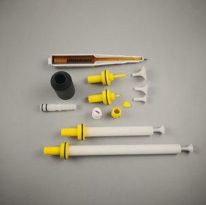 PEM X1 Spray Gun Cascade and Spray Nozzles