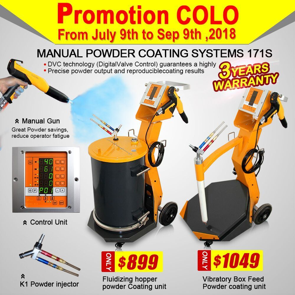 Special offer cl-171s powder coating equipment