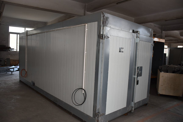 colo-519 gas powder curing oven