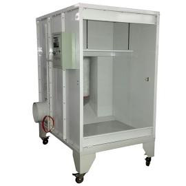 Ruční stříkací kabina pro práškové lakování
