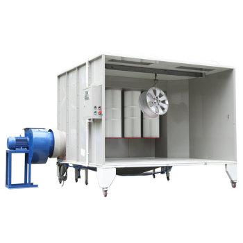 Electrostatic Powder Spray Booth Cabin
