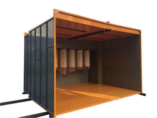 4 metry Dlouhá ruční stříkací kabina