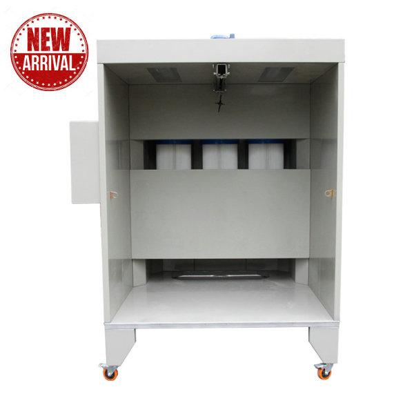 Manuální elektrostatická prášková lakovací kabina