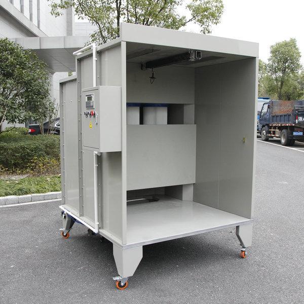 Colo-1517 prášková lakovací kabina