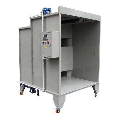 Systémy pro rychlou změnu barvy práškové kabiny