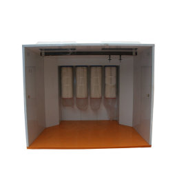 Cabina para aplicacion de pintado el polvo ecuador