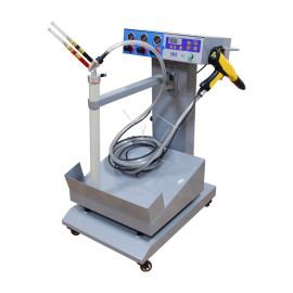 Box feed powder coating systems