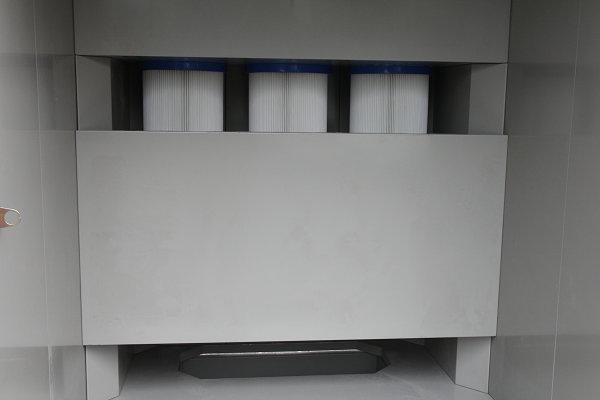 Powder booth Filter