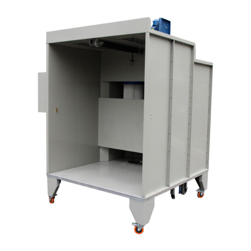 Cabina de pintura con PLC