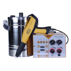 Equipamiento manual de pulverizacion electrostatica para polvo