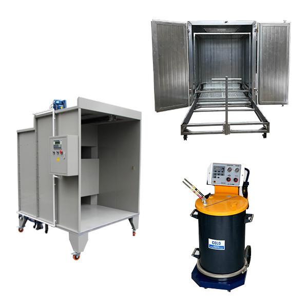 Manual powder coating equipment for beginners